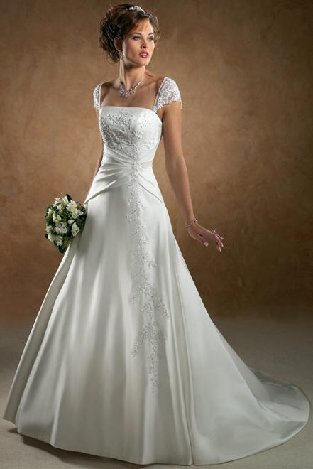 wedding dresses for big